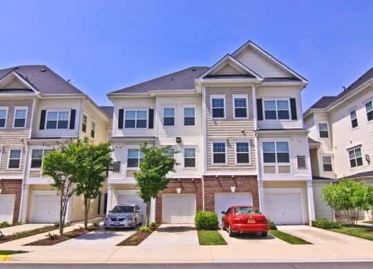 View of our spacious apartments and townhomes at Barrington Park