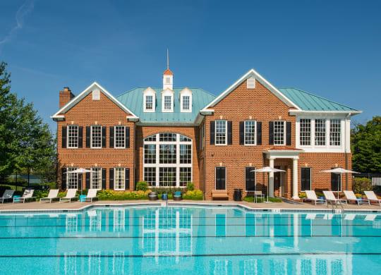 Fairfax Square Swimming Pool at Fairfax Square, Virginia