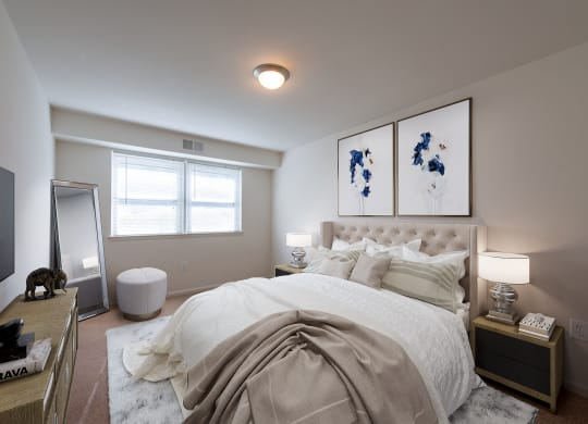 Middletown Valley Apartments Bedroom
