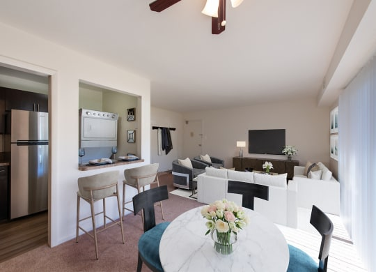 Middletown Valley Apartments Living Dining and Kitchen