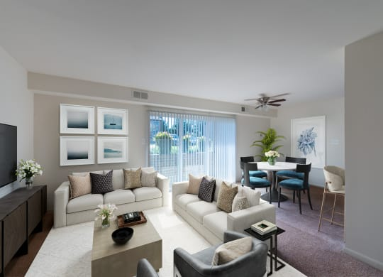 Middletown Valley Living and Dining Room