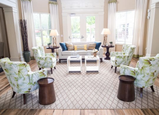 Clubroom Interior at Northlake Park, Orlando, FL