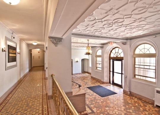 Corridor and Lobby Design at Oaklawn, Washington