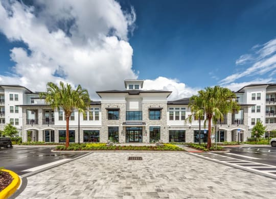 Exquisite exterior of the Westerly in Winter Gardens, FL