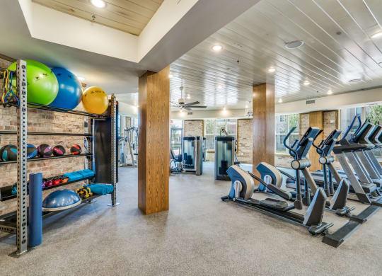 Fitness Center Equipment rack