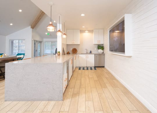 Leasing office large table  Bella Vista at Hilltop Apts for rent in Richmond CA