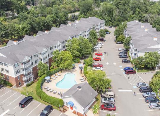 Carlton Oaks aerial exterior