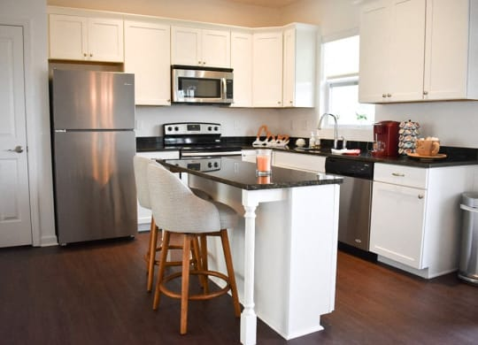 Kitchen, Highland Village Townhomes in Ross Township, Pittsburgh, PA