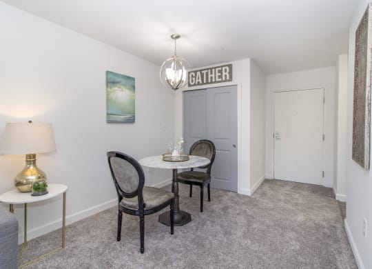 Dining Room at The Valley: Active Senior Living