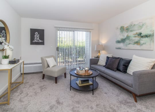 Living Room at The Valley: Active Senior Living
