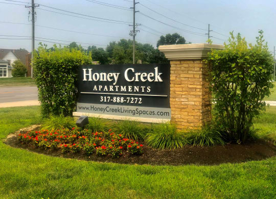 Honey Creek Sign