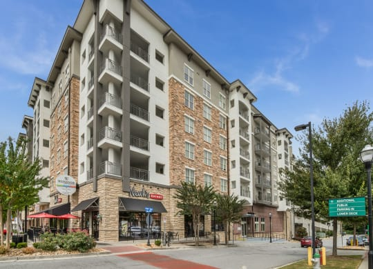 Walking Distance to Shopping, Dining & Entertainment at Windsor at Brookhaven, Atlanta, GA
