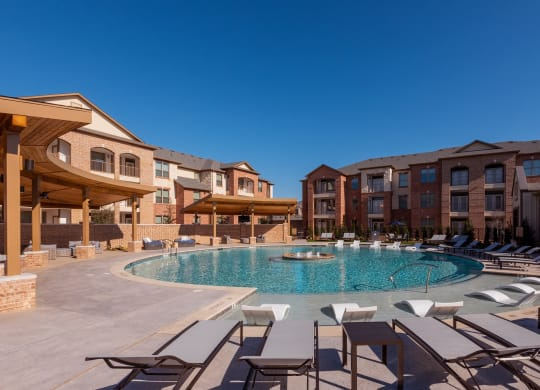 Swimming Pool With Relaxing Sundecks at Windsor Castle Hills, Carrollton, 75010