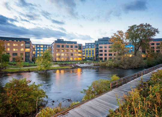 Desirable Waltham Location along The Charles River at Edison on the Charles by Windsor, Massachusetts, 02453