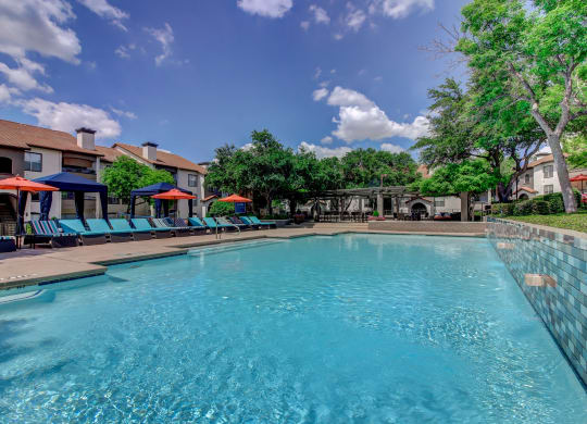 Sparkling Swimming Pool at Windsor on White Rock Lake, Dallas