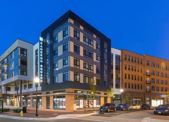Elegant Exterior View Of Property at Cameron Square, Alexandria, Virginia