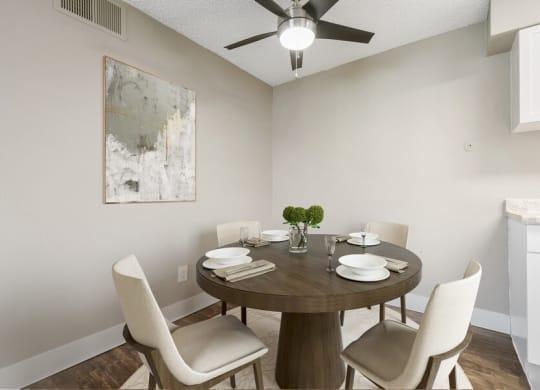 Model dining room
