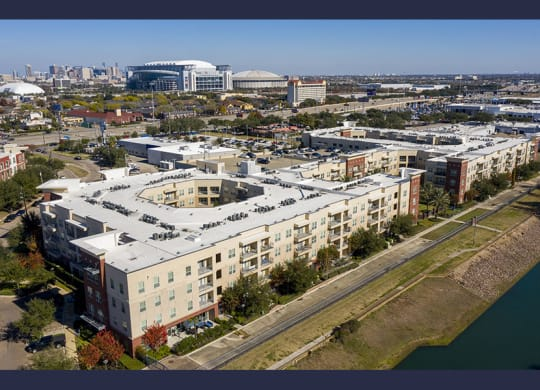 Aerial View Of Community at City Lake, Texas, 77054