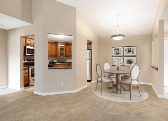 Dining Area at The Riverwood, Lilydale, 55118
