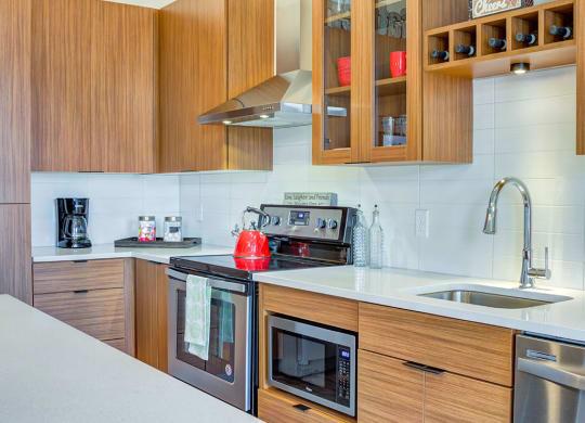 Kitchen area1 at Central Park West, St. Louis Park, 55416