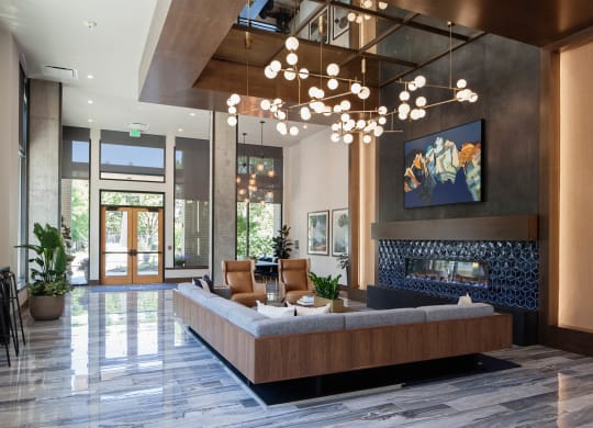 Anthem PDX Apartments Lobby Area