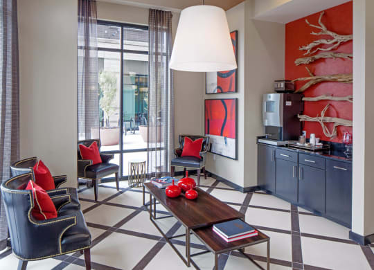 Ella Apartments Interior Clubhouse