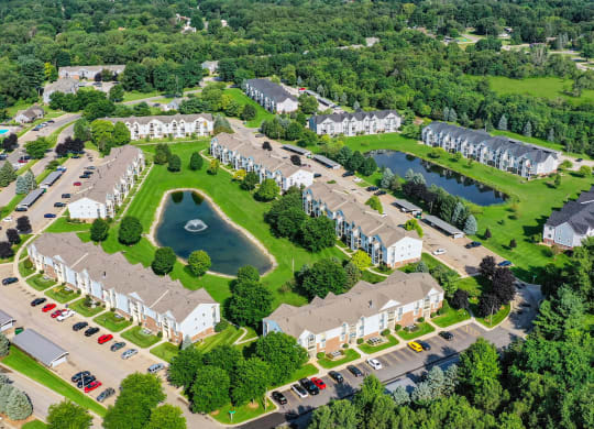 Picturesque View Of Property at Arbor Lakes Apartments, Indiana