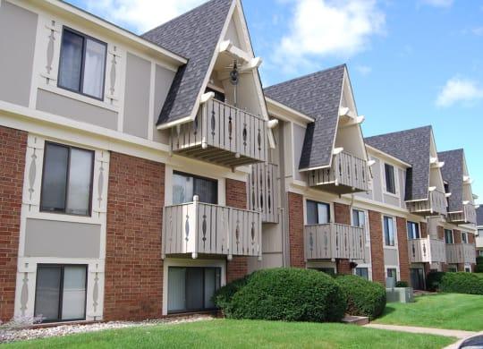 Beautiful Construction and Landscaping at Briarwood Apartments, Benton Harbor, Michigan