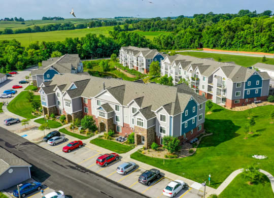 Great View at Colonial Pointe at Fairview Apartments, Bellevue, NE
