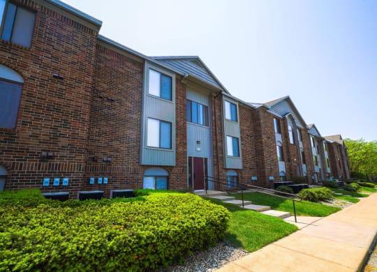 Walking Paths at Green Ridge Apartments, 49544
