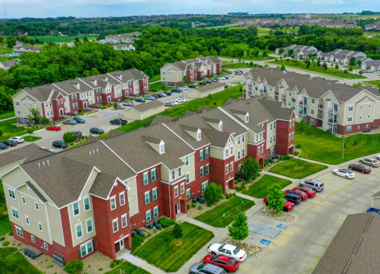 Top View at Lynbrook Apartment Homes and Townhomes, Elkhorn