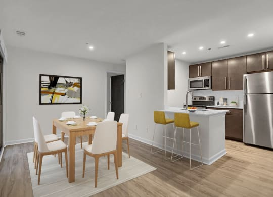 Newly Refurbished Dining Room at Sundance Apartments, Indianapolis, IN, 46237