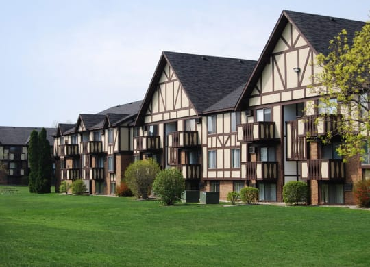 Amazing Outdoor Spaces at Normandy Village Apartments, Michigan City, IN, 46360