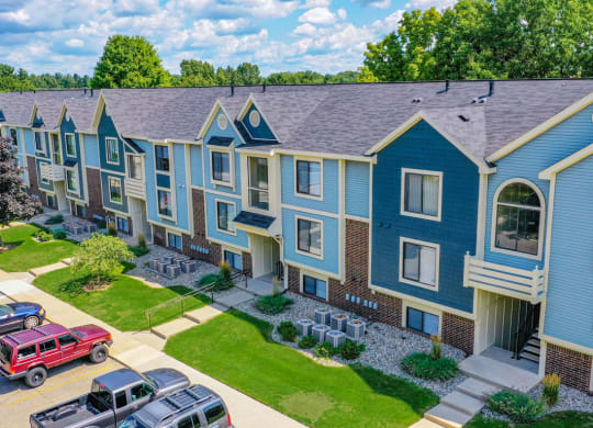 Stunning Aerial View at North Pointe Apartments, Elkhart, IN, 46514