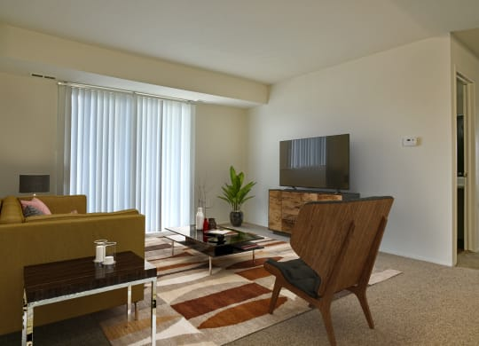 Modern Living Room at Perry Place, Michigan, 48439