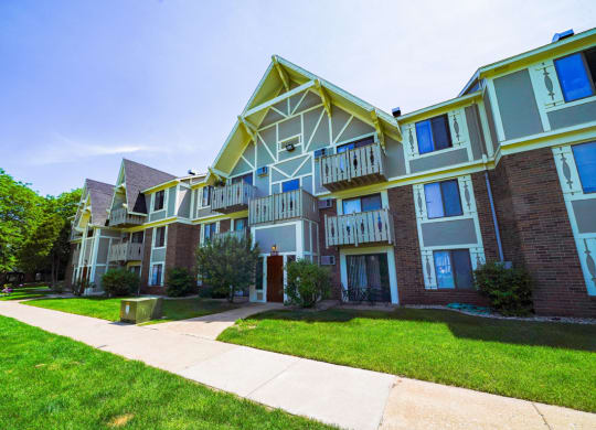 Well Maintained Buildings at Swiss Valley Apartments, Michigan
