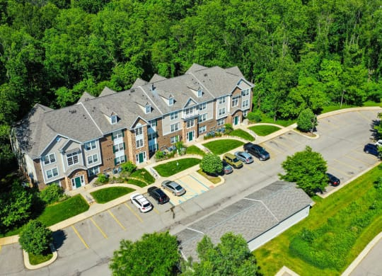 Off Street Parking at Tall Oaks Apartment Homes, Kalamazoo, MI, 49009