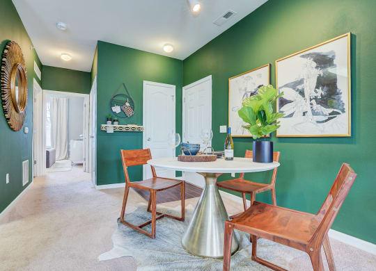 Model Dining Area at Brickshire Apartments, Merrillville, 46410