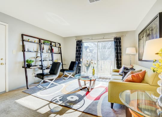 Natural Light in Living Room at Autumn Woods Apartments, Miamisburg, OH