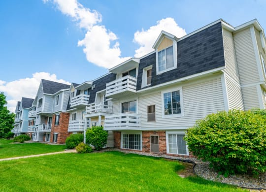 Well Maintained Buildings at Trappers Cove Apartments, Lansing, Michigan