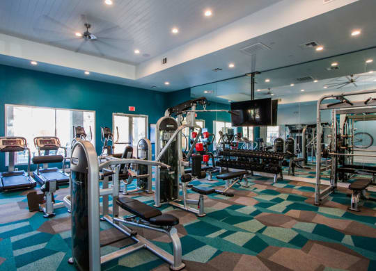 Cyan at Green Valley Apartments Fitness Center
