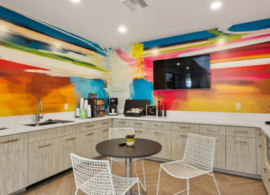 San Portella Apartments Interior Clubhouse