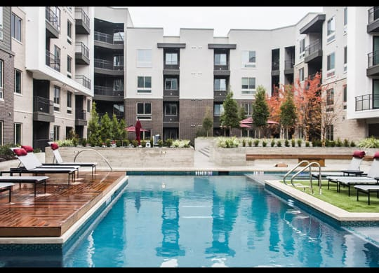 Swimming Pool And Sundeck at Dallas 75248