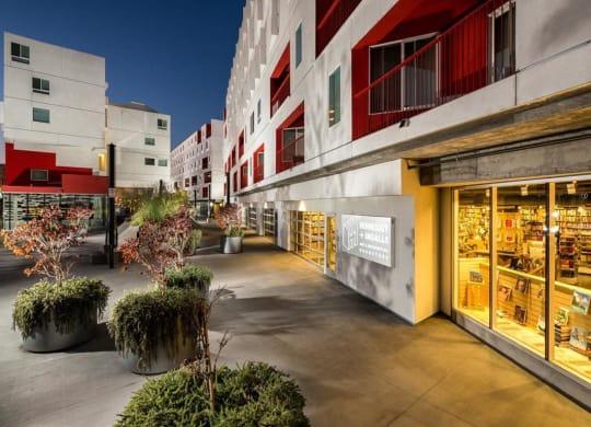 Neighborhood Bookstore at One Santa Fe Residential, California, 90012