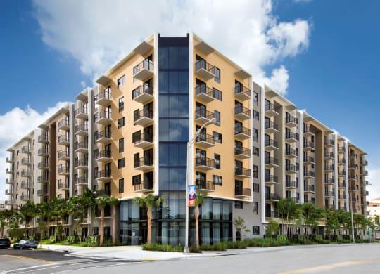 Elegant Exterior View at Berkshire Coral Gables, Florida, 33146