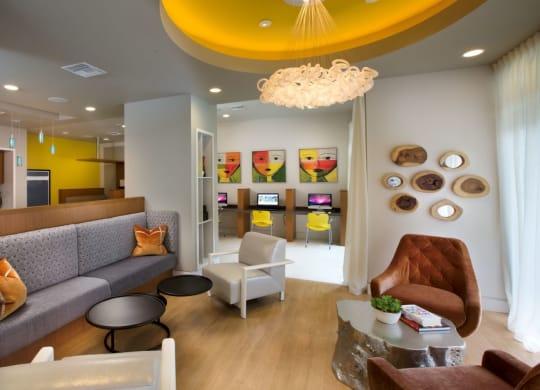 Social Gathering Lounge at Berkshire Coral Gables, Miami, FL, 33146