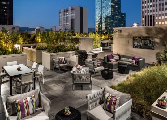 Rooftop Lounge at Berkshire K2LA, Los Angeles, 90005