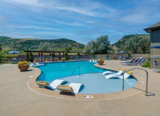 Dakota Ridge Pool Area