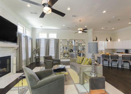 Gorgeous Living Room at Park at Briggs Ranch, San Antonio, TX