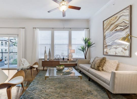 Expansive Living Room at Berkshire Jones Forest, Texas, 77384